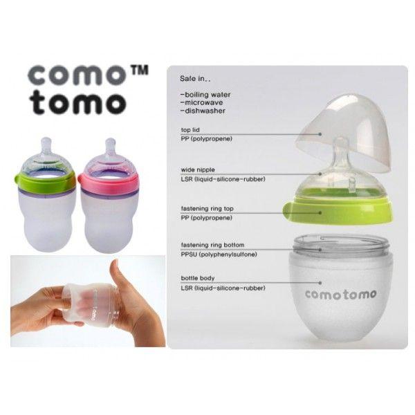 Comotomo Baby Bottle Attractive Amp Fashionable Way To