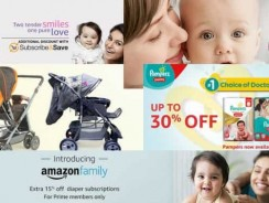 Amazon baby coupons: week1 July